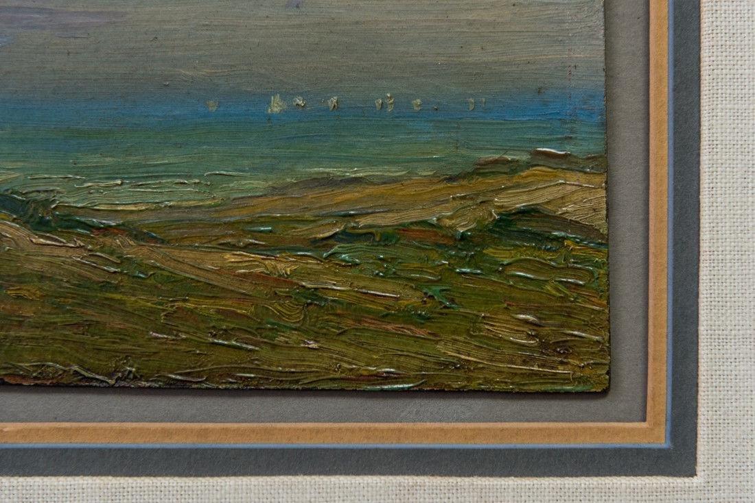 Gertrude H. Fiske (MA 1878 - 1961) Small Oil - 8