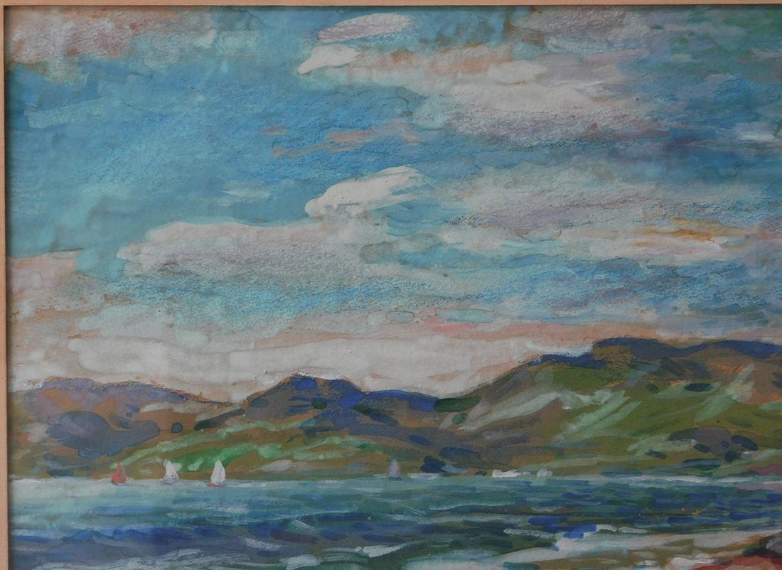 Childe Hassam (New York 1859 - 1935) Watercolor - 3