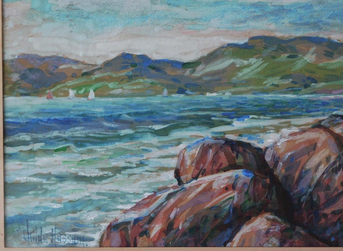 Childe Hassam (New York 1859 - 1935) Watercolor - 4