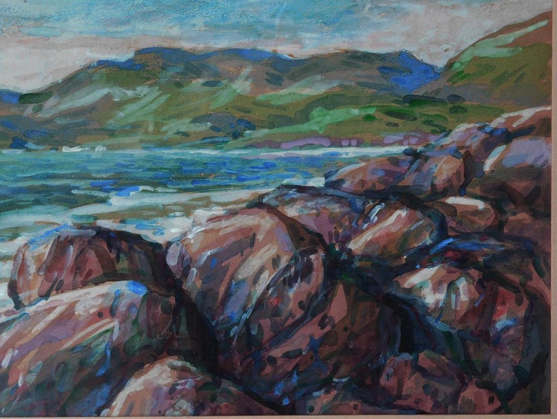 Childe Hassam (New York 1859 - 1935) Watercolor - 5