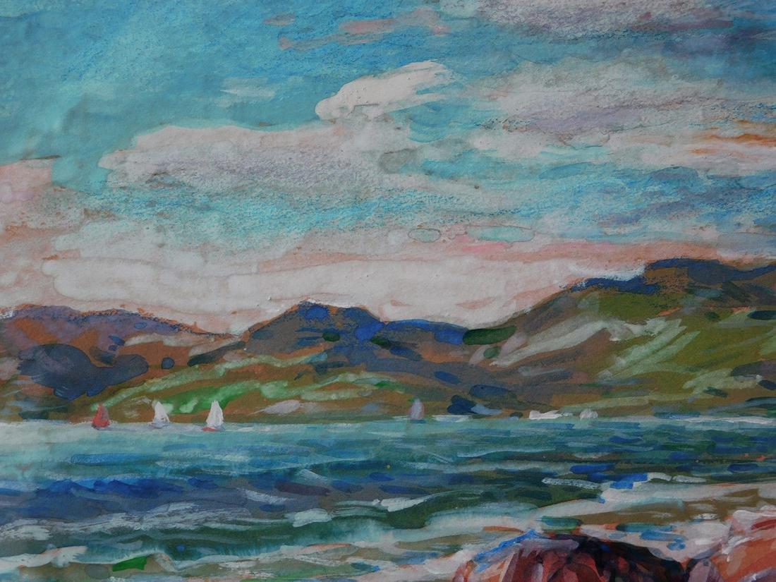 Childe Hassam (New York 1859 - 1935) Watercolor - 6