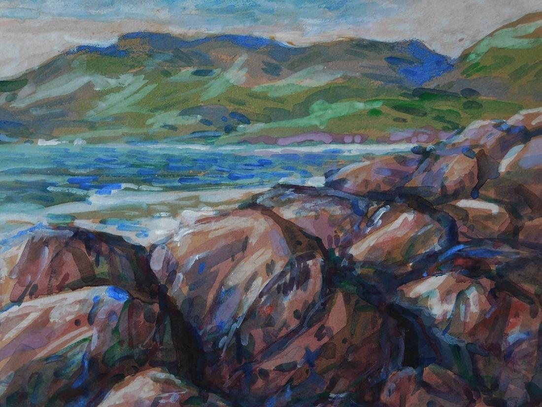Childe Hassam (New York 1859 - 1935) Watercolor - 7