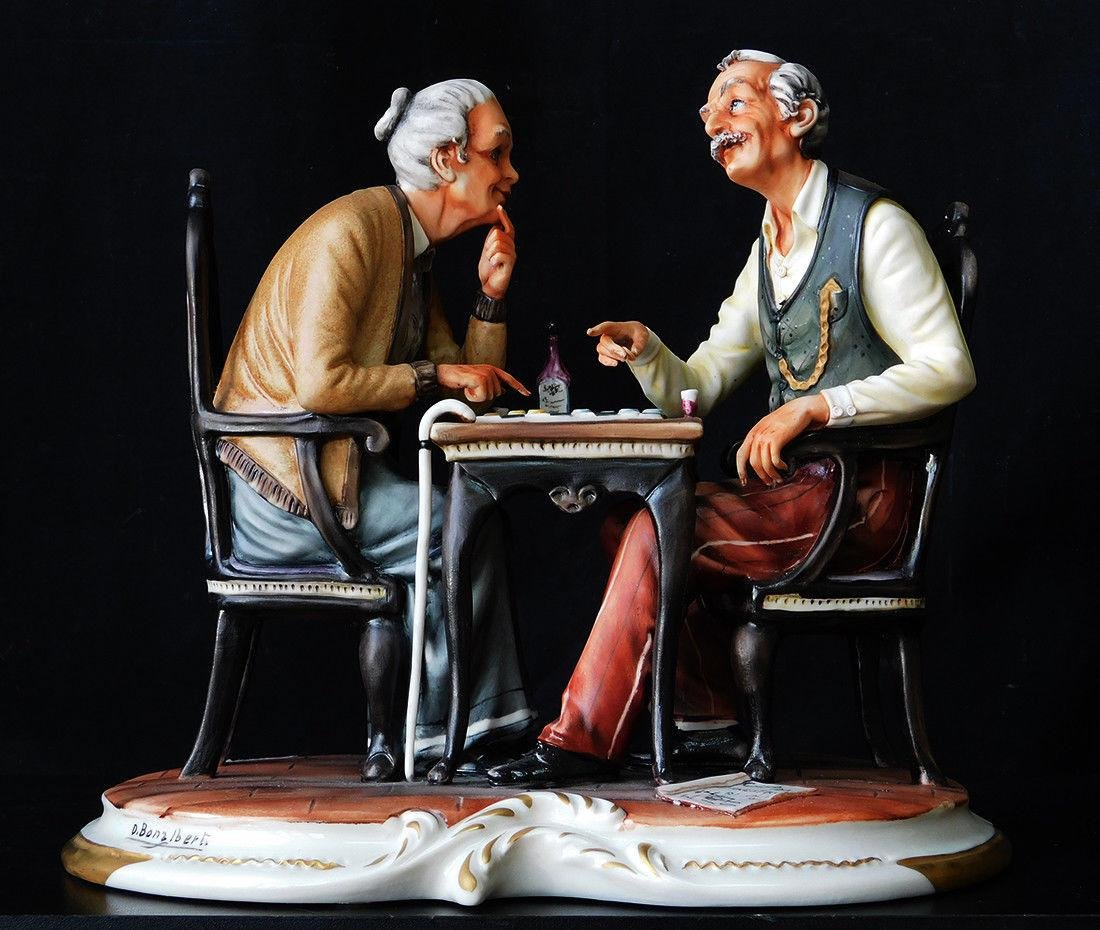 D. BONALBERTI Figurine of Art #427