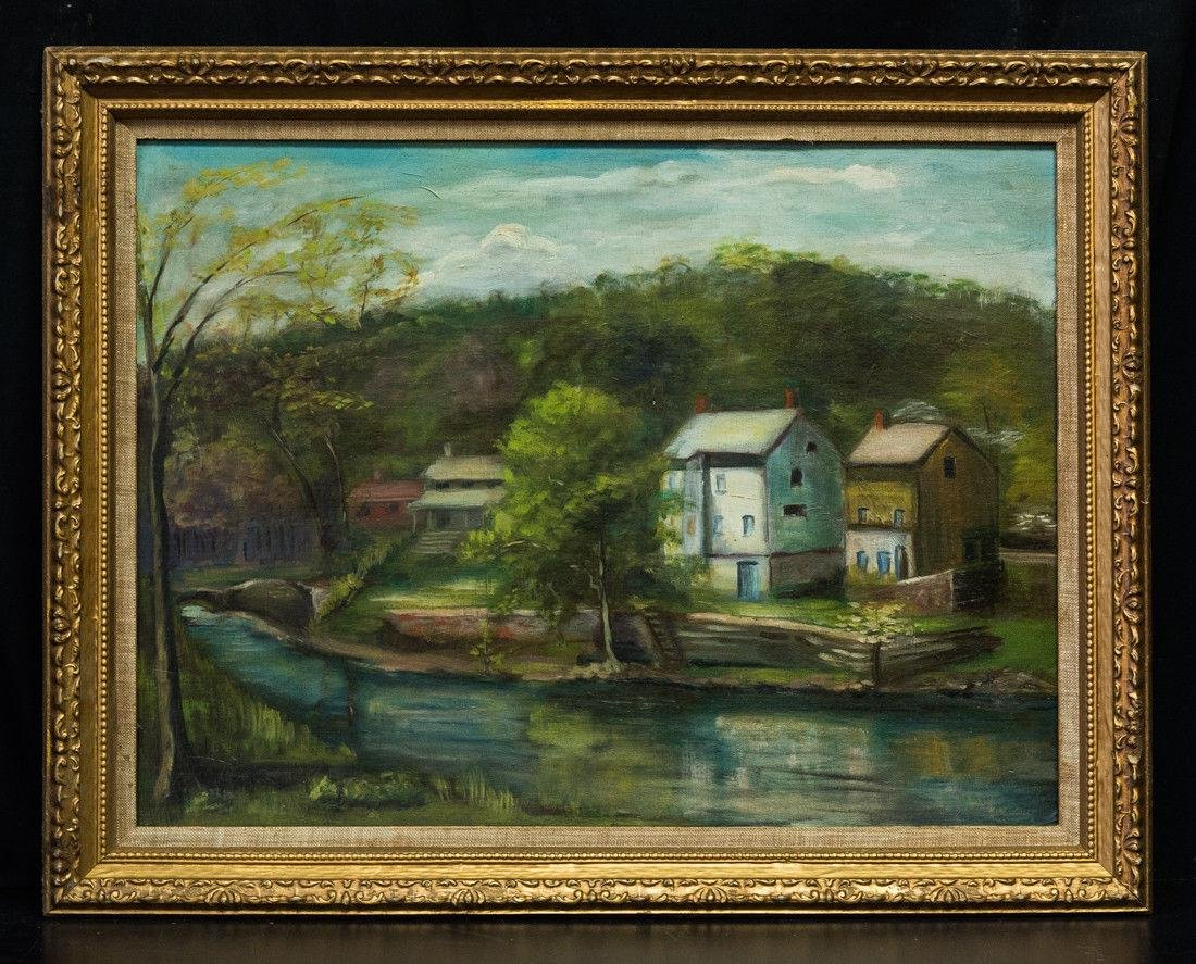Nancy Ferguson (PA/CA, 1872-1967) Oil
