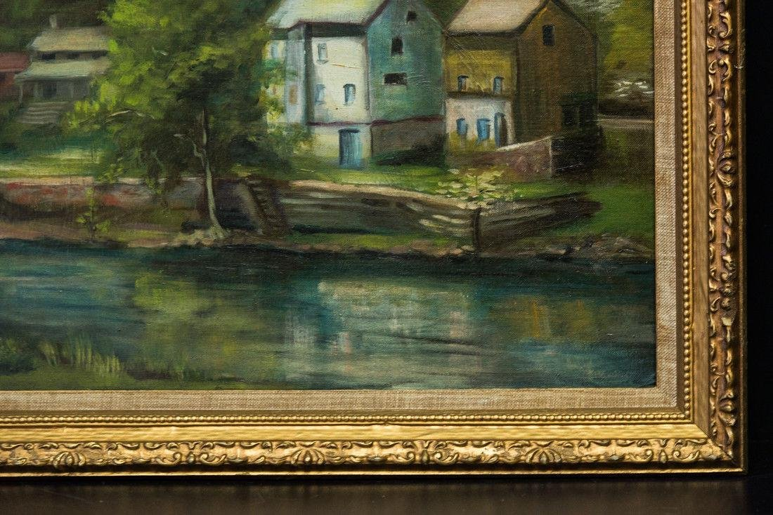 Nancy Ferguson (PA/CA, 1872-1967) Oil - 4