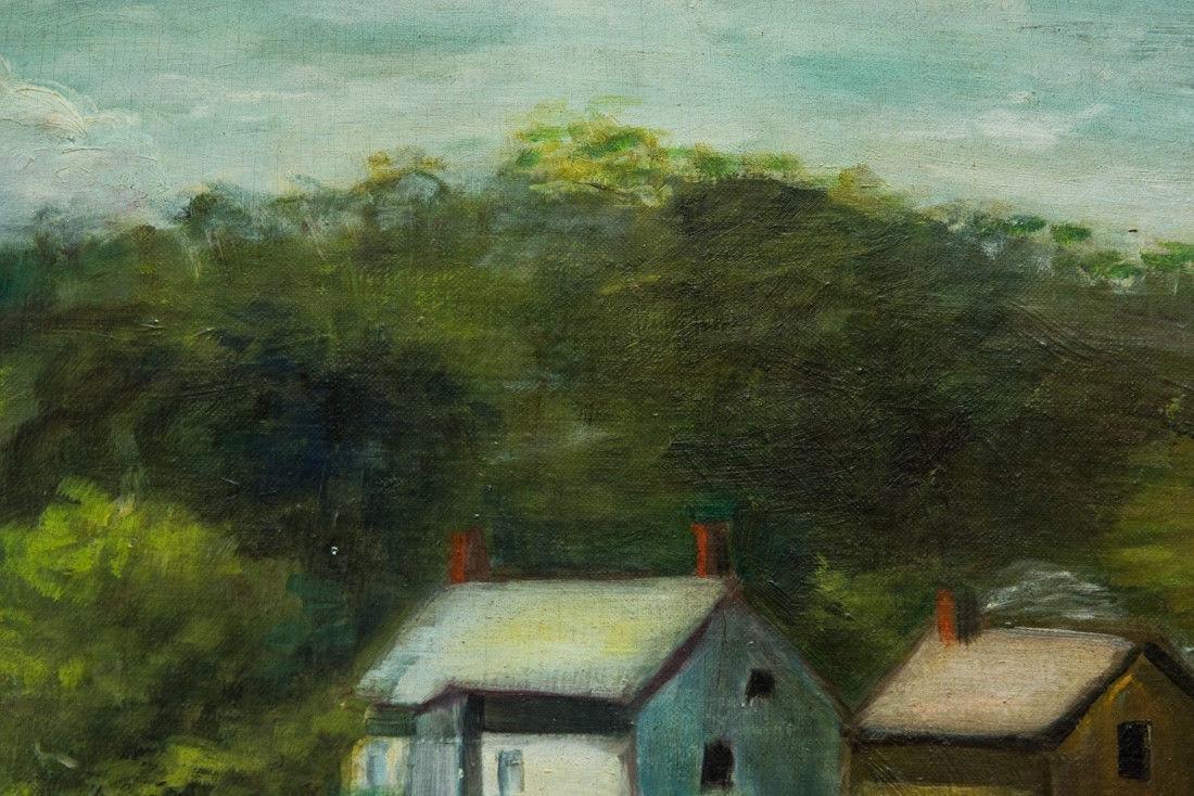 Nancy Ferguson (PA/CA, 1872-1967) Oil - 7