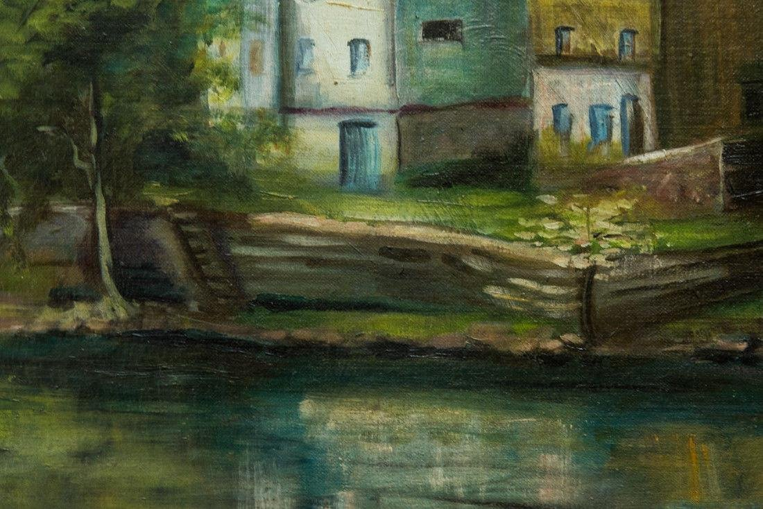 Nancy Ferguson (PA/CA, 1872-1967) Oil - 8