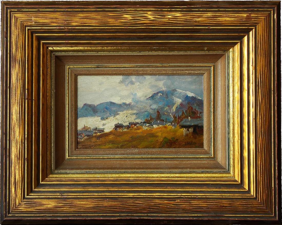 James MacDonald (Canada 1873 - 1932) Oil