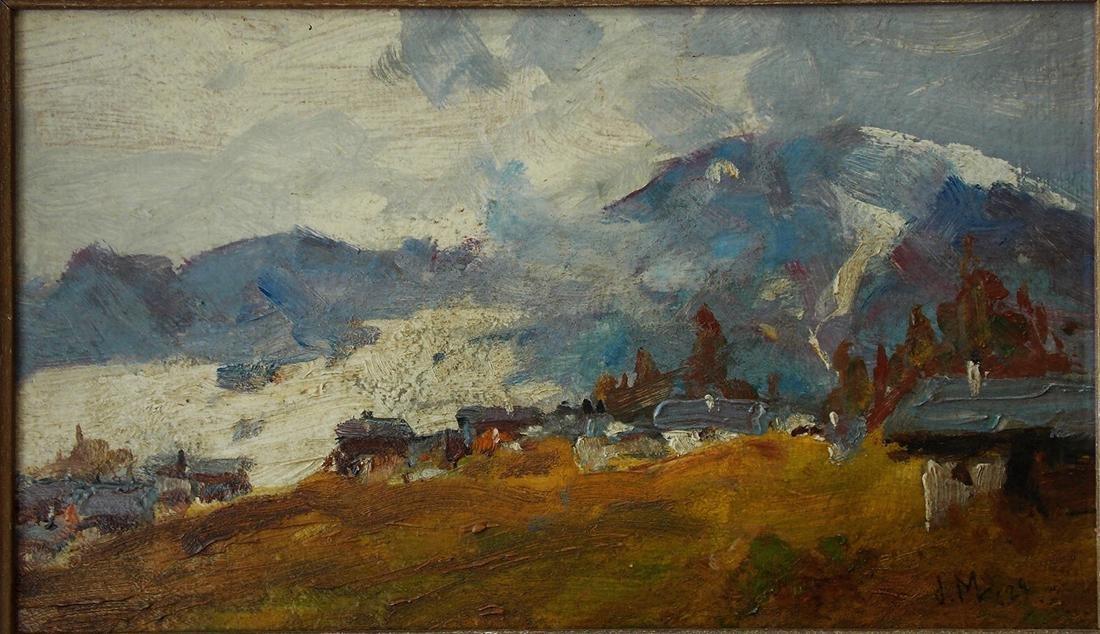 James MacDonald (Canada 1873 - 1932) Oil - 2