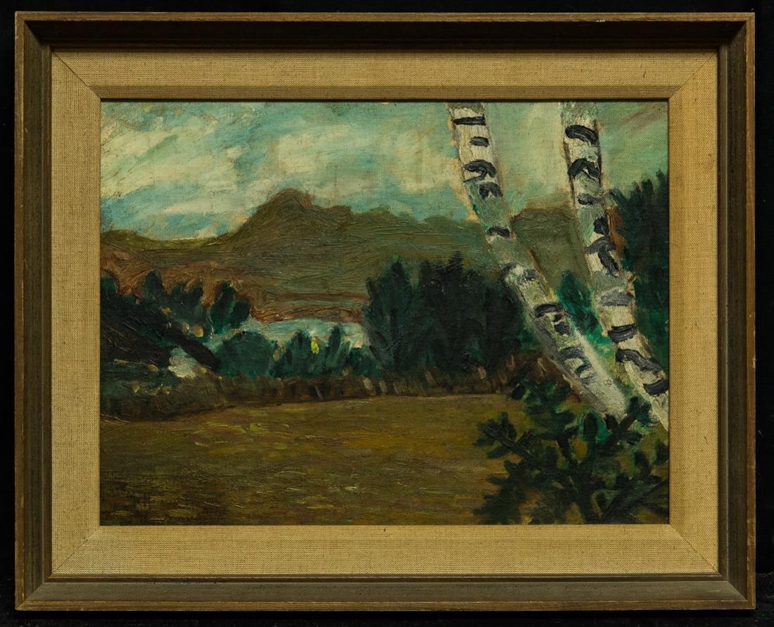 Marsden Hartley (Maine, 1877-1943) Oil