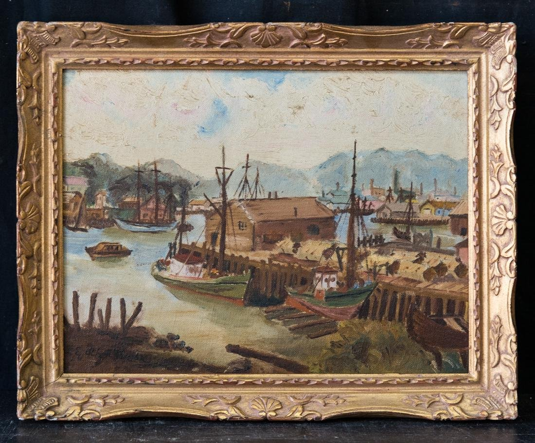 Emile Othon Friesz (French 1879-1949) Oil
