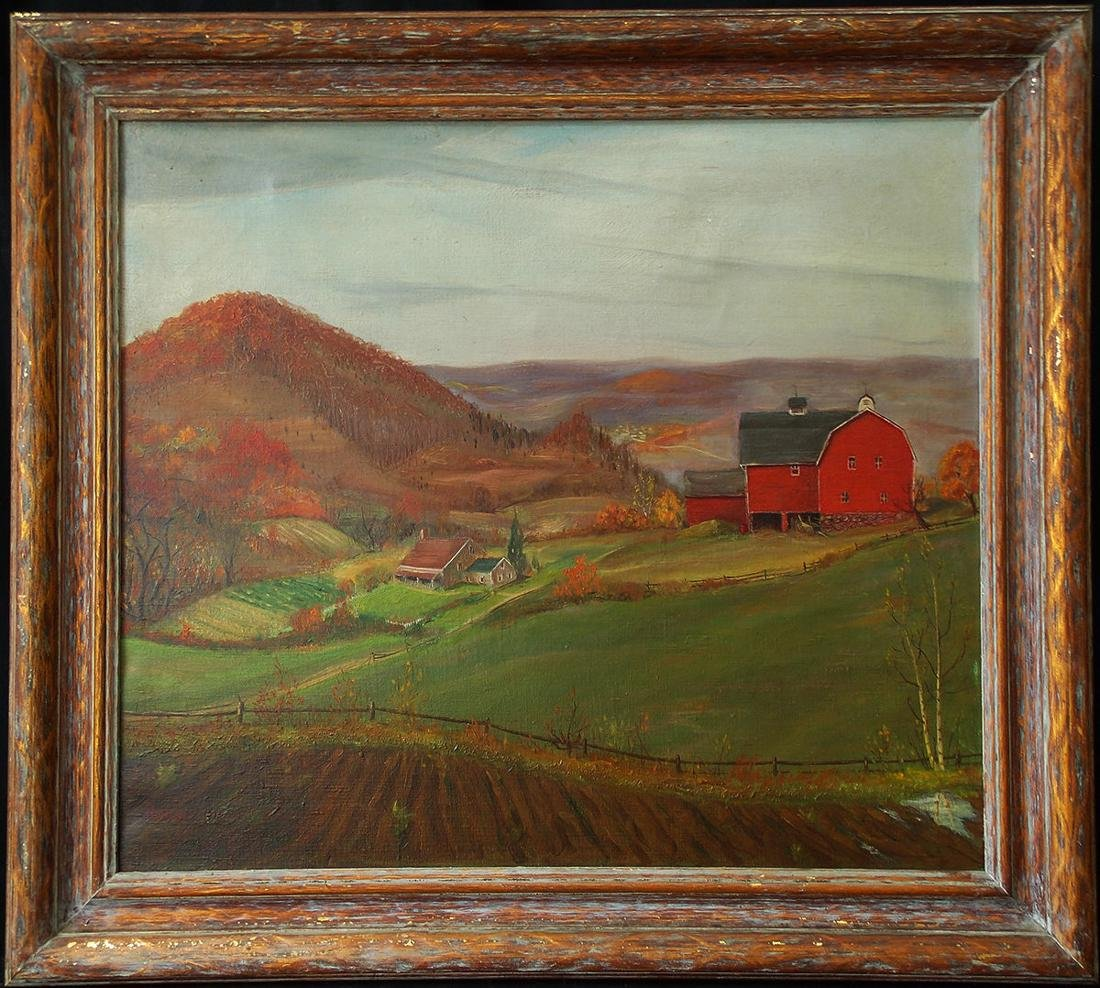 Robert Nisbet  (CT/RI 1879 - 1961) Oil Canvas