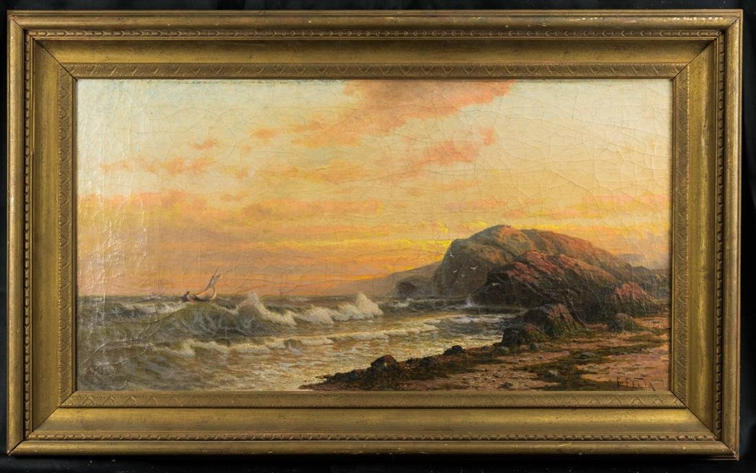 Kanute Felix  (NJ/FL 1852 - 1935) Oil