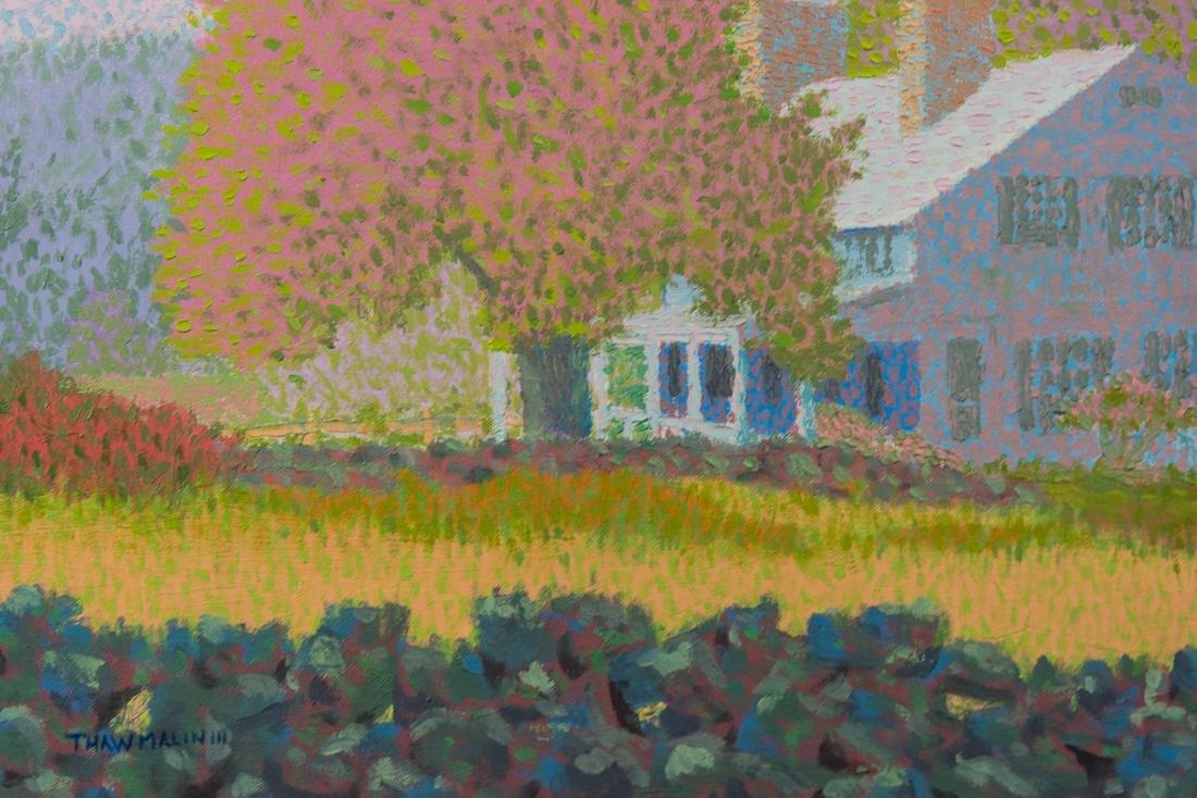 Summer Landscape Oil Painting Vintage - 4