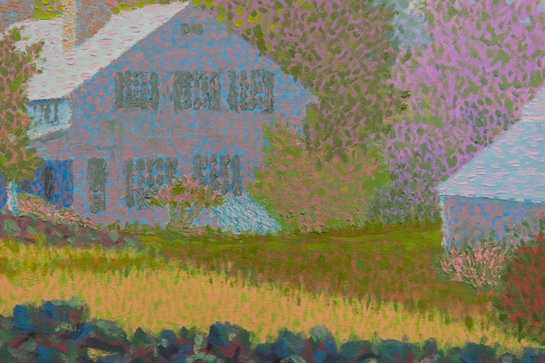 Summer Landscape Oil Painting Vintage - 6