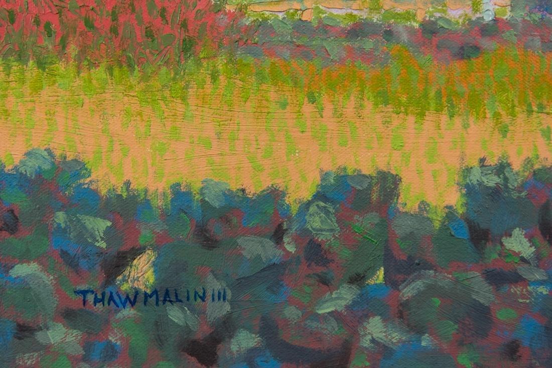 Summer Landscape Oil Painting Vintage - 7
