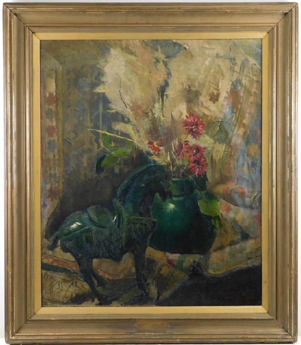 Emil Carlsen (NY/CA1848-1932) Oil
