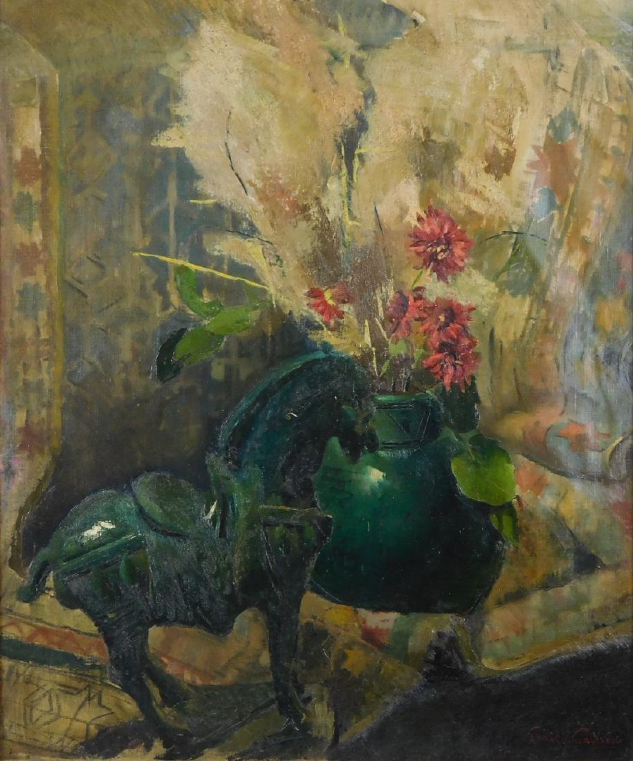 Emil Carlsen (NY/CA1848-1932) Oil - 2