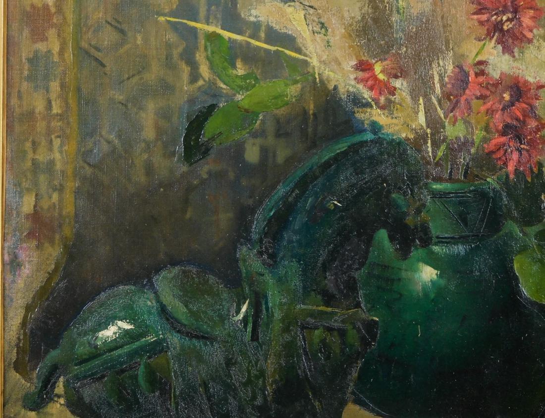Emil Carlsen (NY/CA1848-1932) Oil - 4