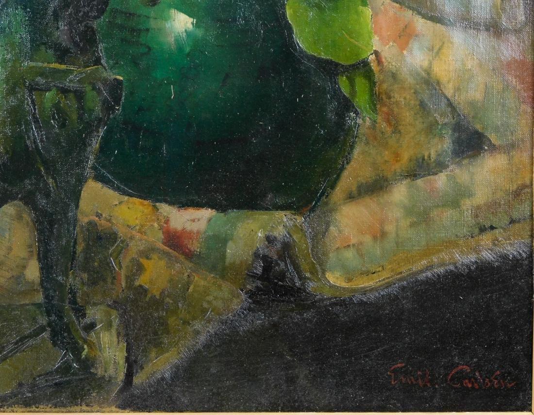 Emil Carlsen (NY/CA1848-1932) Oil - 8