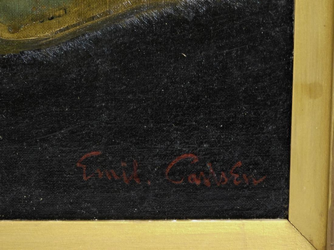 Emil Carlsen (NY/CA1848-1932) Oil - 9