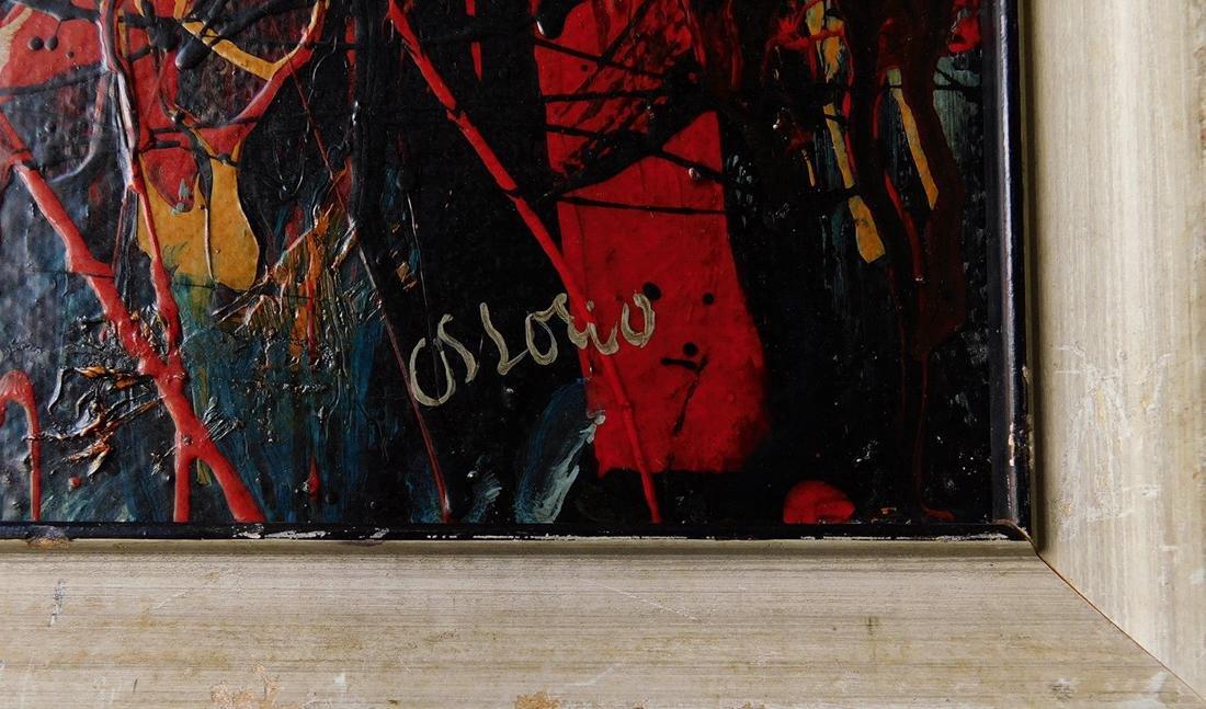 Alfonso A Ossorio (Philippines 1916 - 1990) Oil - 9