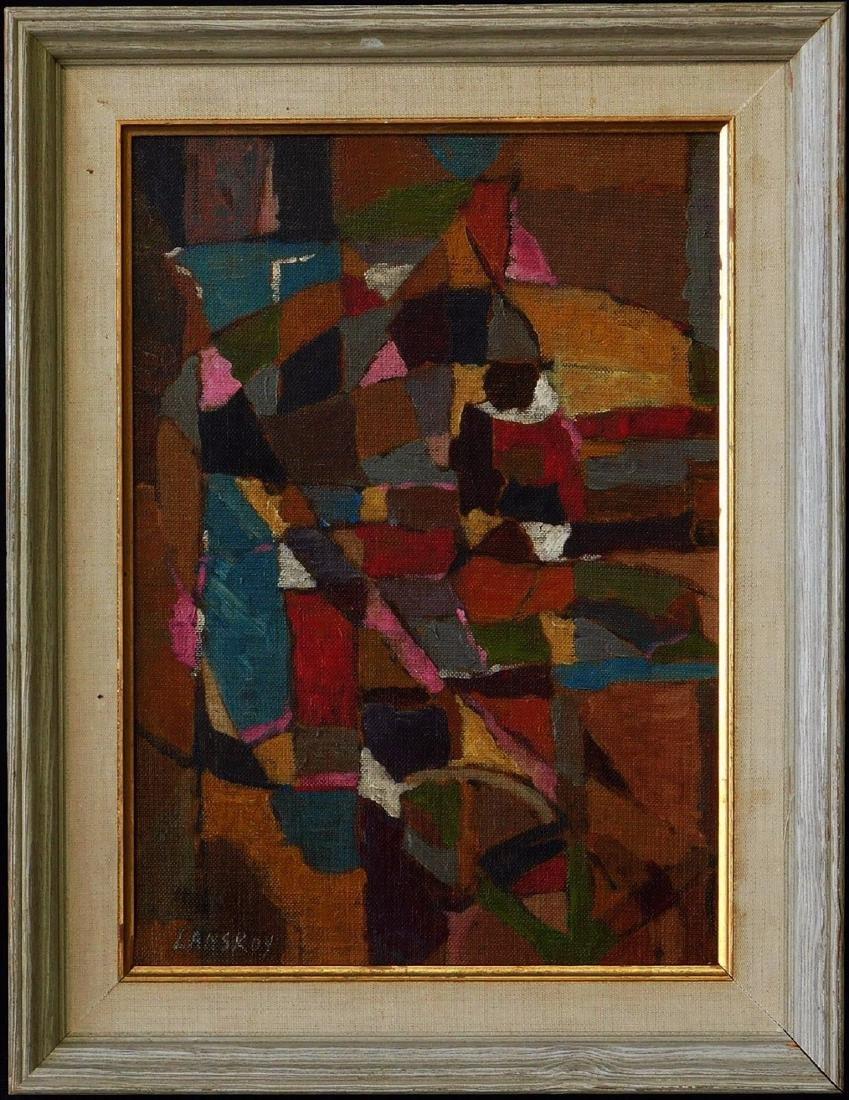 Andre Lanskoy (FR,RU1902 - 1976) Oil