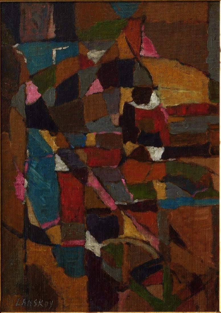 Andre Lanskoy (FR,RU1902 - 1976) Oil - 2