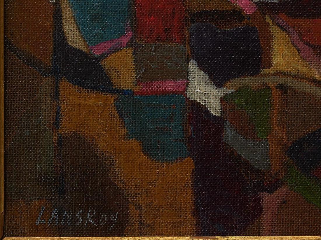 Andre Lanskoy (FR,RU1902 - 1976) Oil - 5