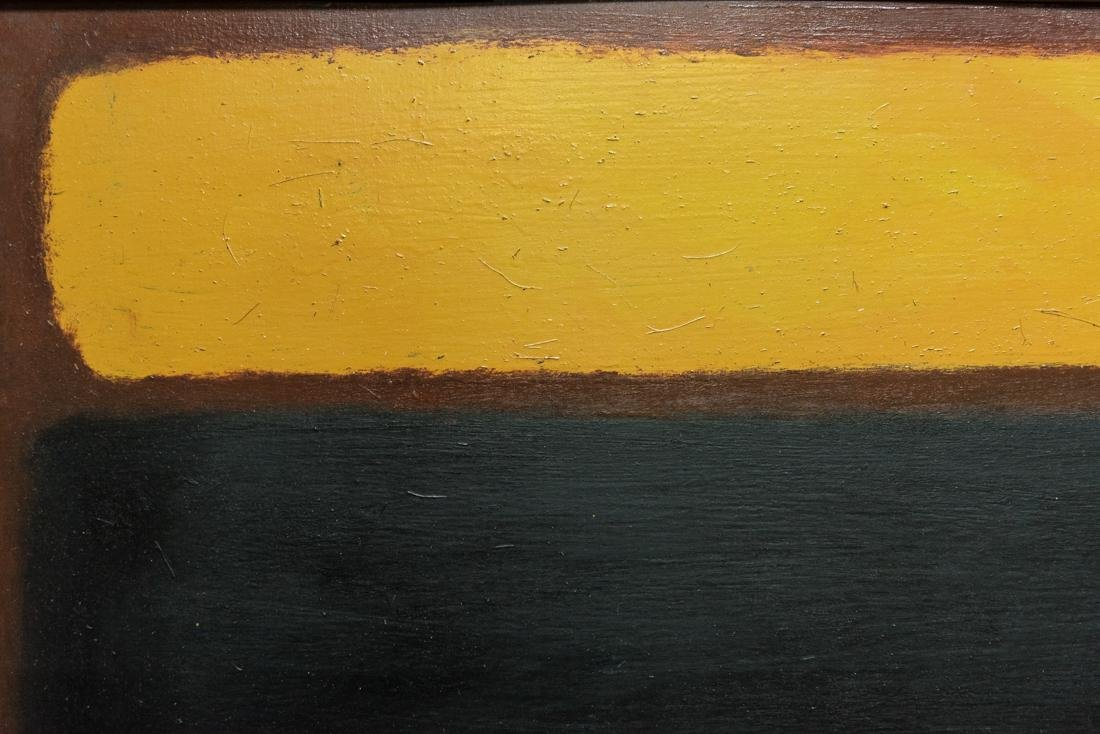 Abstract Oil Attribute to Mark Rothko - 5