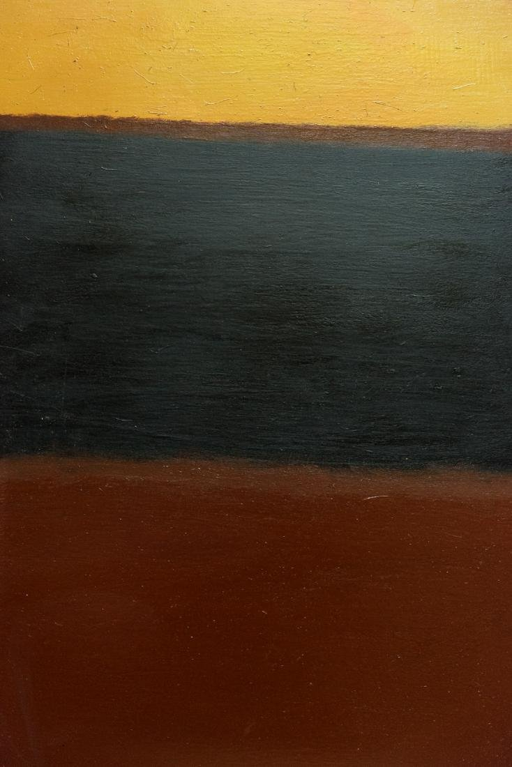 Abstract Oil Attribute to Mark Rothko - 8