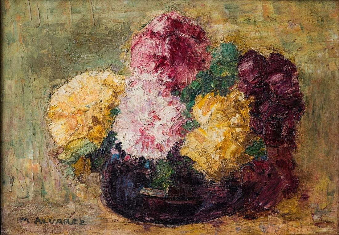 Mabel Alvarez (Hawaiian,1891-1985) Oil - 2