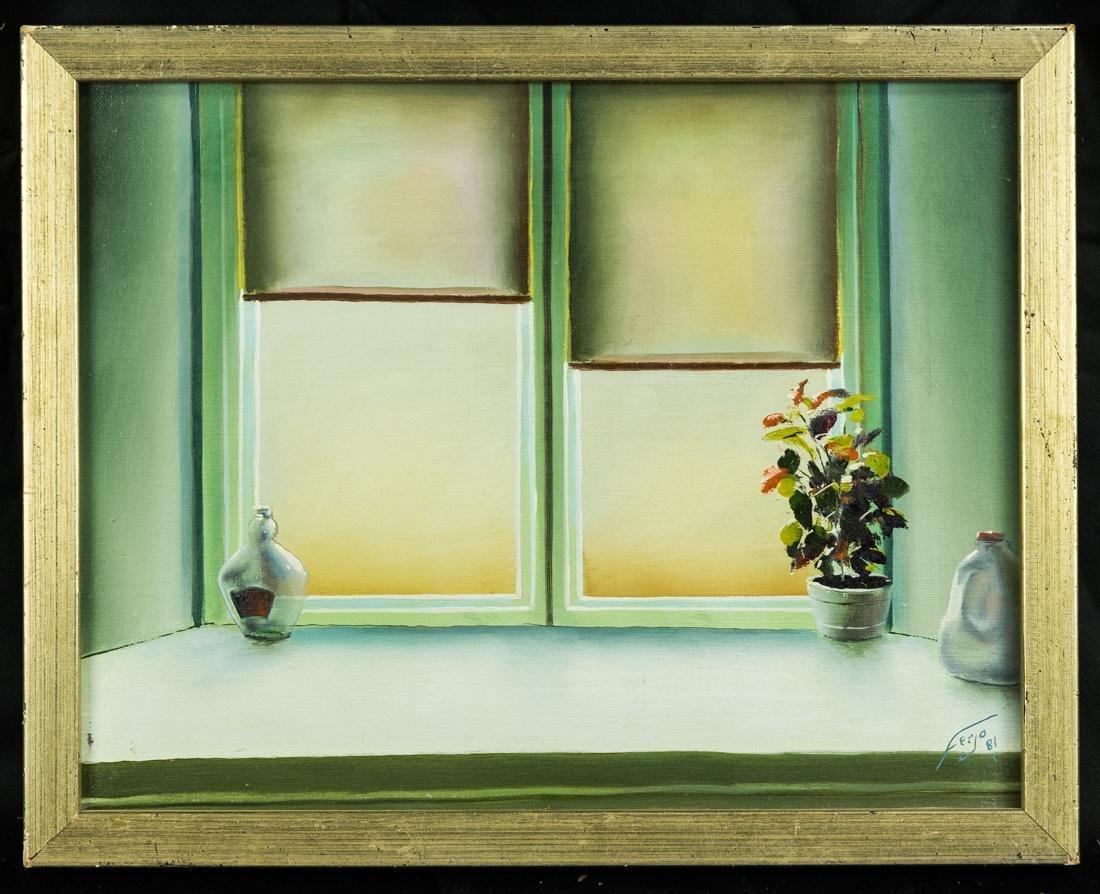 Interior Window Scene