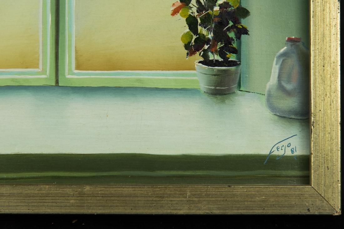 Interior Window Scene - 6