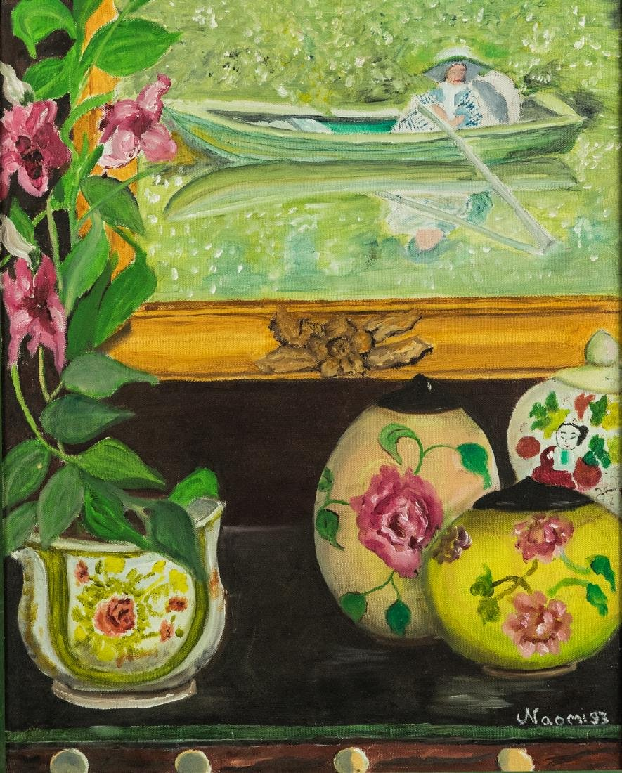 Still Life with Painting - 2