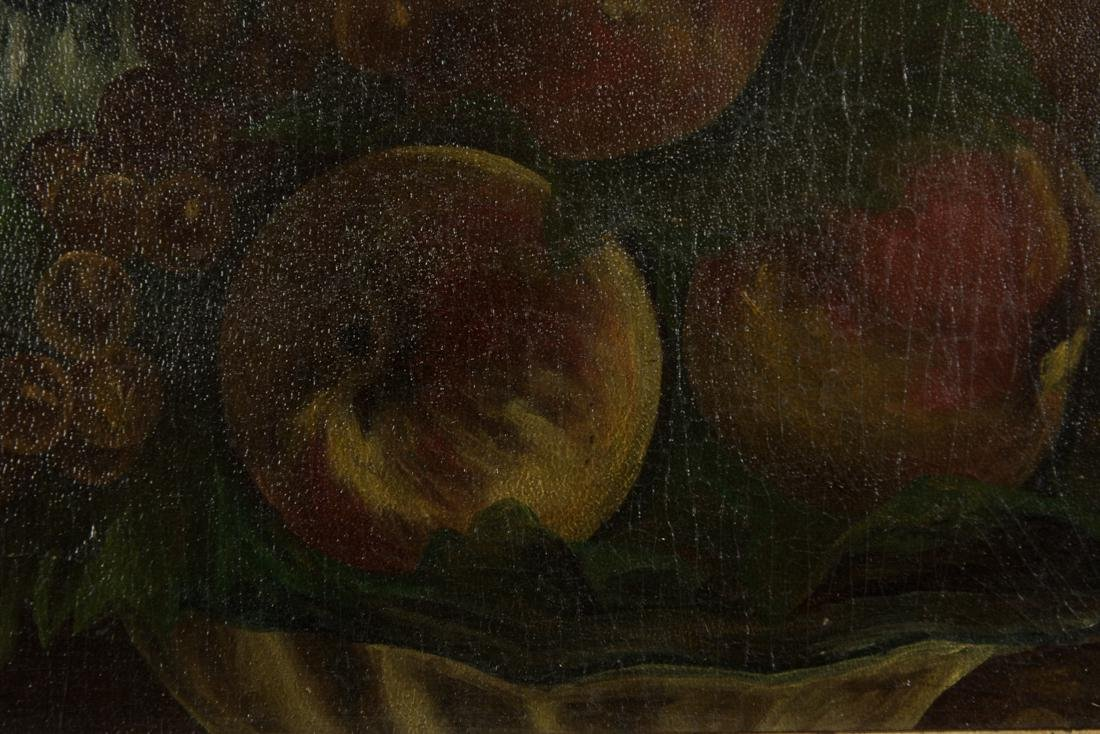 Still Life Peach and Grapes - 8