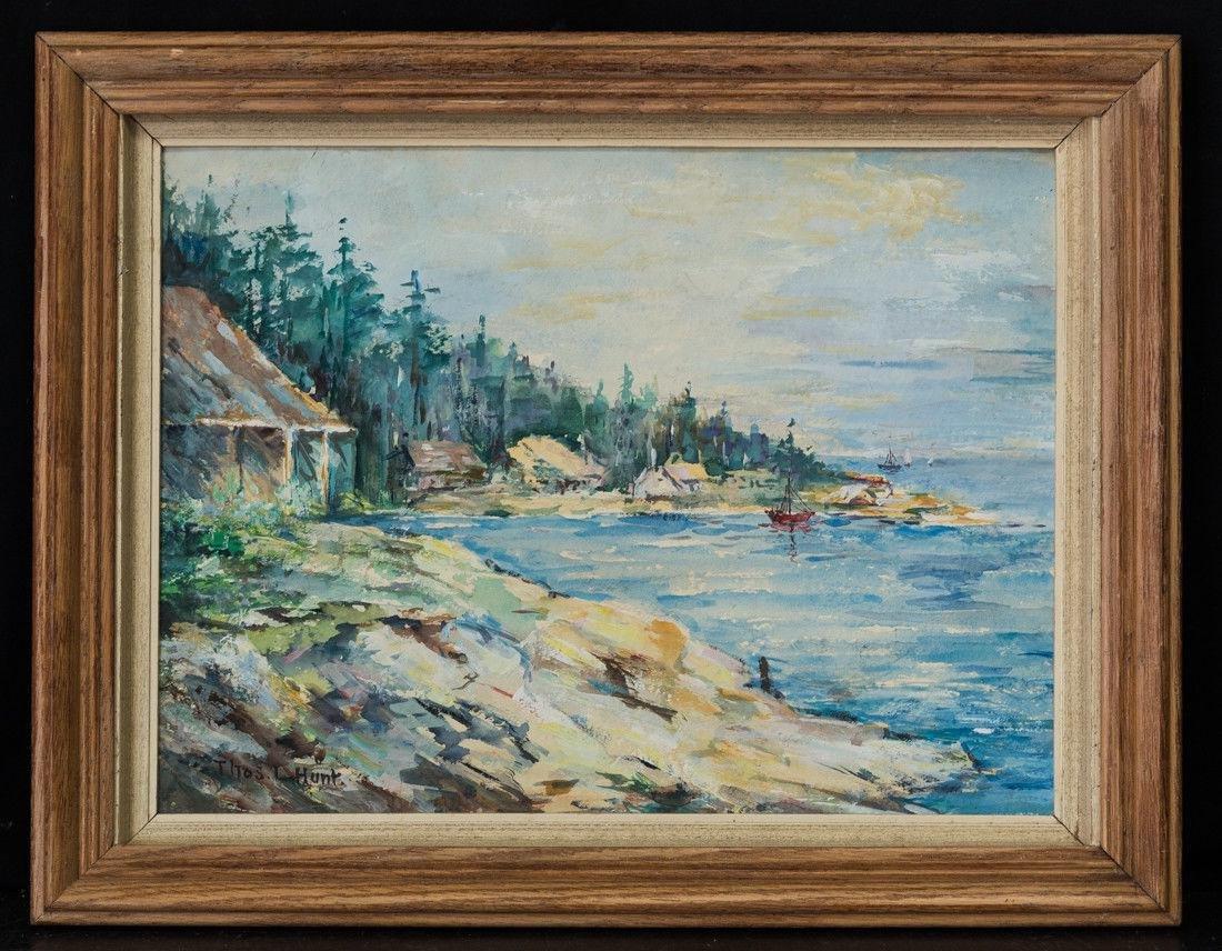 Thomas Hunt  (CA 1882 - 1938) Watercolor