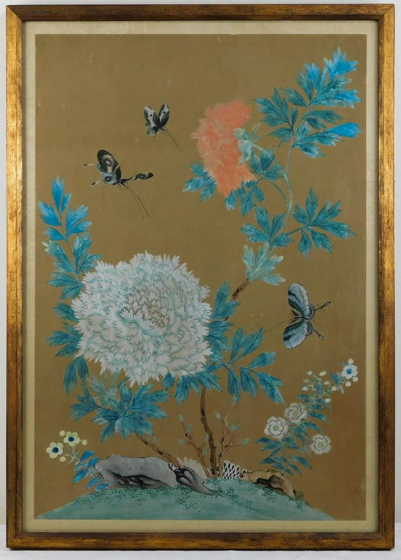 Antique Chinese Watercolor