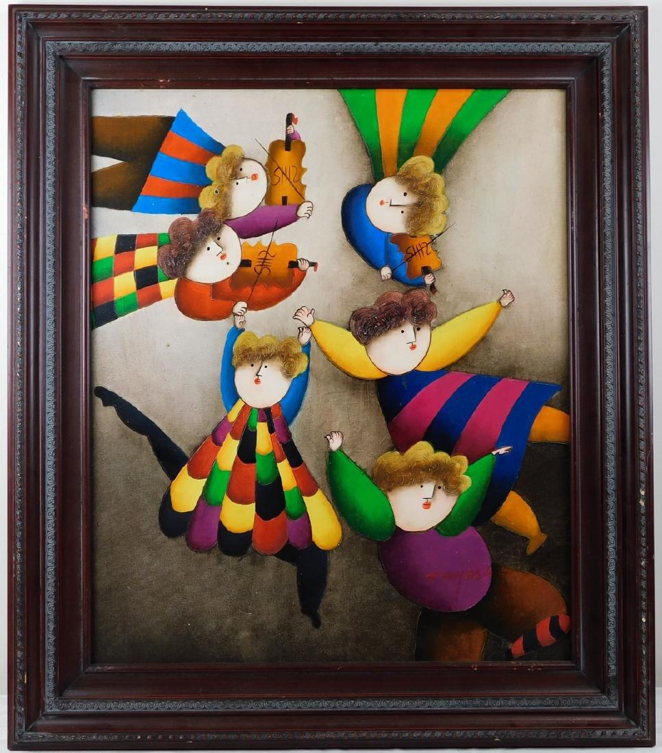 Joyce Roybal,  New York (Born 1955) Oil