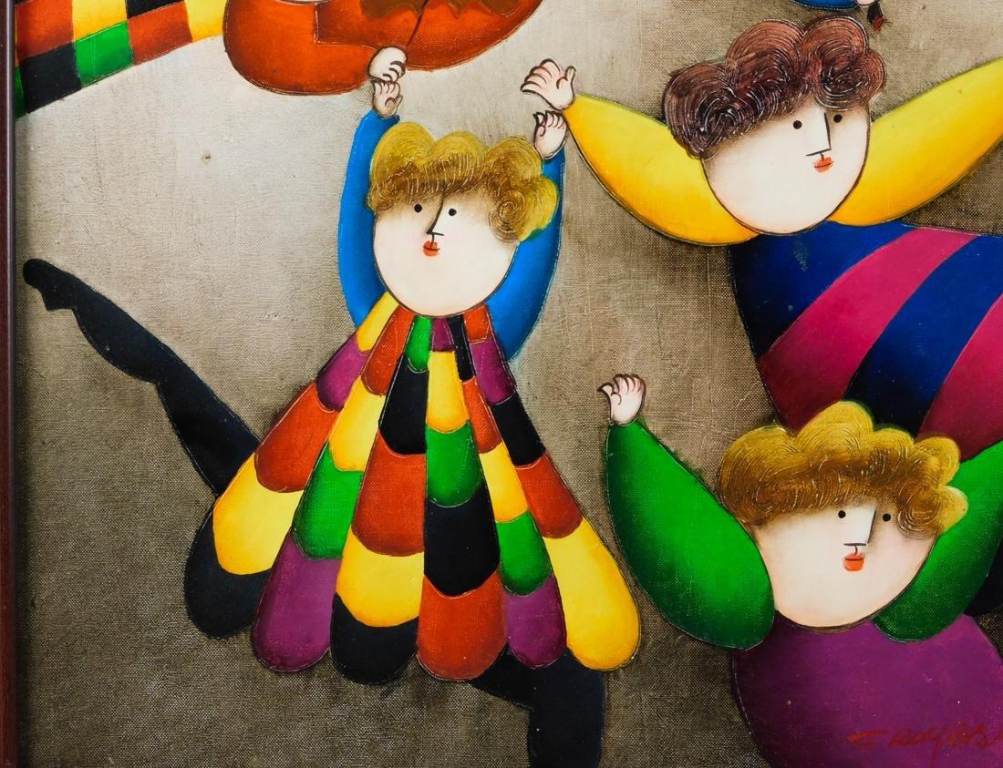 Joyce Roybal,  New York (Born 1955) Oil - 4