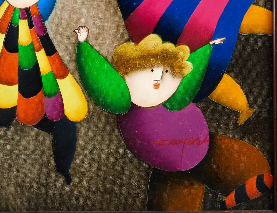 Joyce Roybal,  New York (Born 1955) Oil - 8