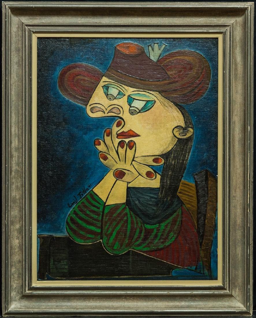 Emil Filla  (France 1882 - 1953) Oil