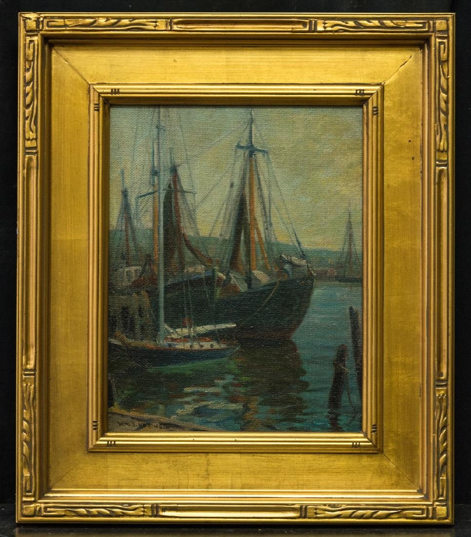 William Robinson  (NY/PA 1861 - 1945) Oil