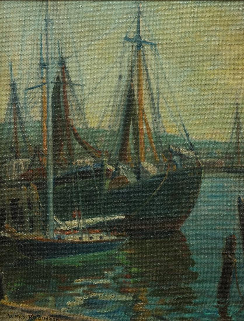 William Robinson  (NY/PA 1861 - 1945) Oil - 2