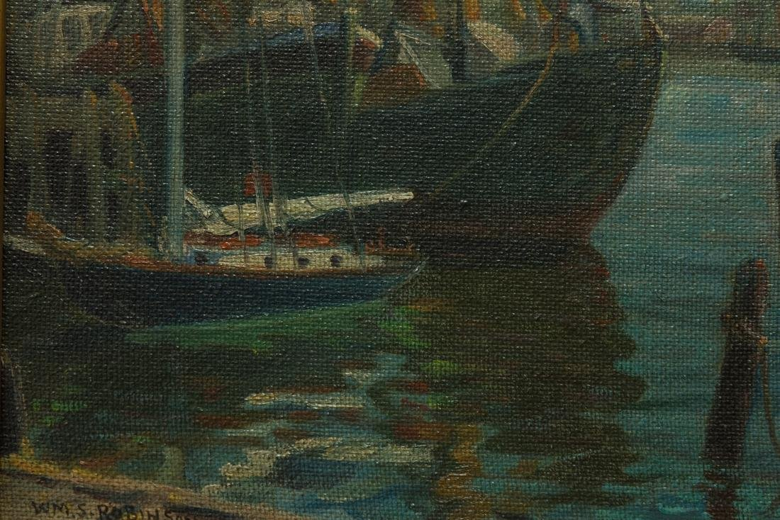 William Robinson  (NY/PA 1861 - 1945) Oil - 6