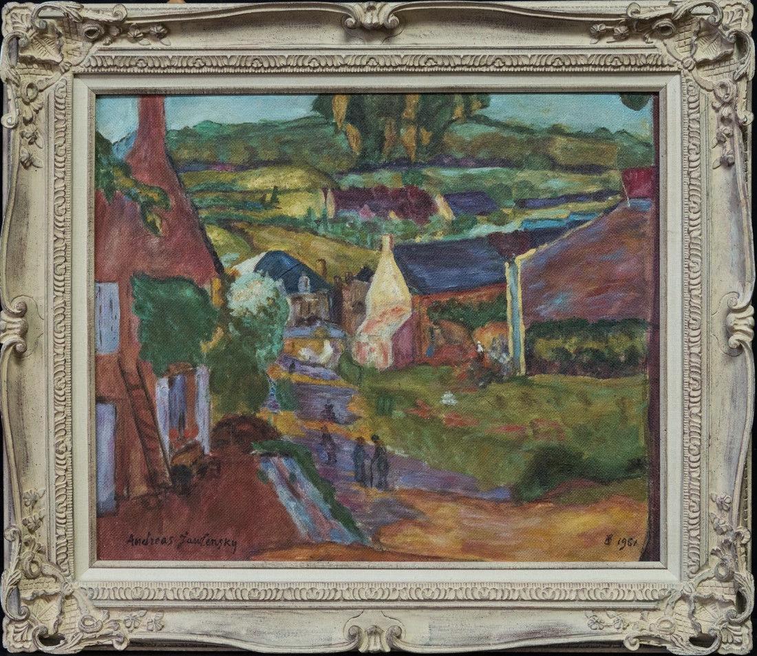 Andre Jawlensky  (Poland 1902 - 1984) Oil