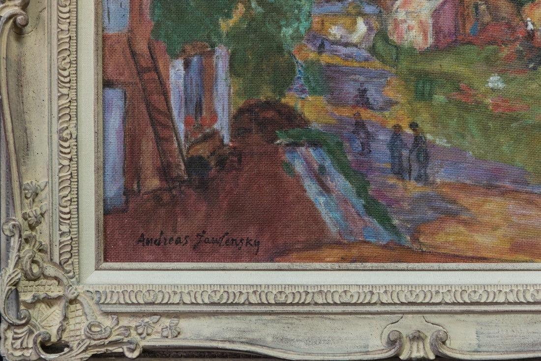 Andre Jawlensky  (Poland 1902 - 1984) Oil - 4
