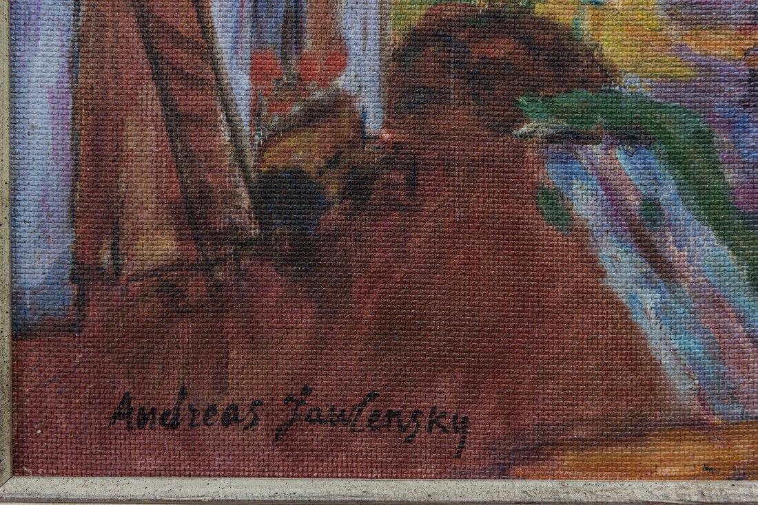 Andre Jawlensky  (Poland 1902 - 1984) Oil - 8