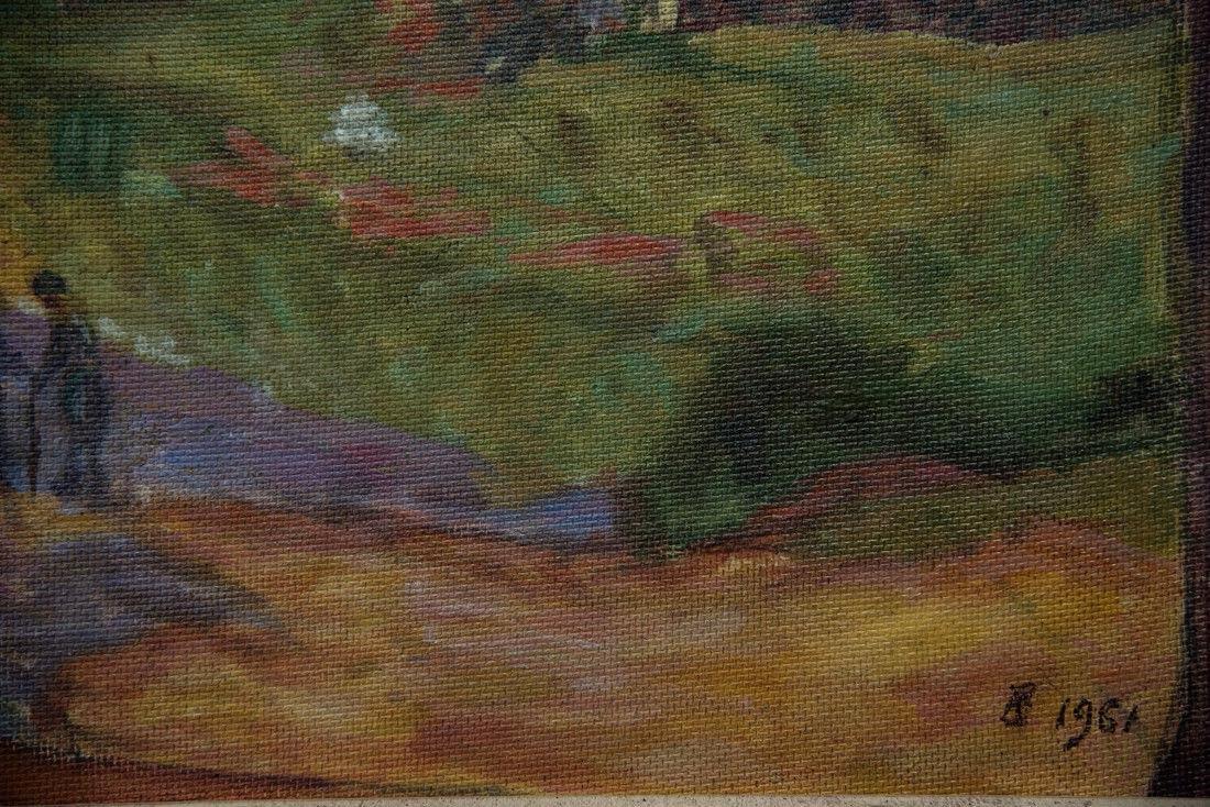 Andre Jawlensky  (Poland 1902 - 1984) Oil - 9