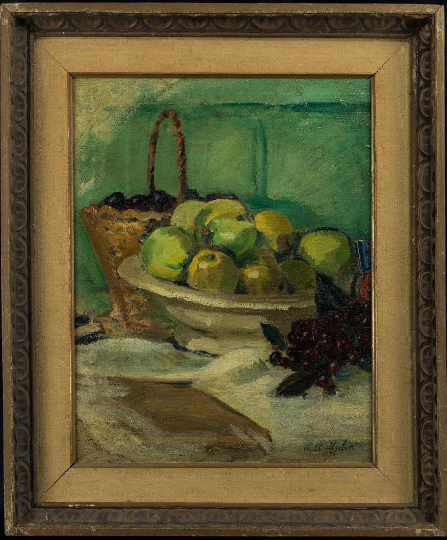 Walt F. Kuhn  (NY/CA 1877 - 1949) Oil